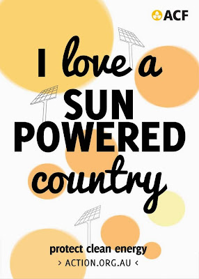 I love a sun-powered country