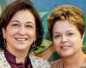 Katia Abreu & Dilma Rousseff.