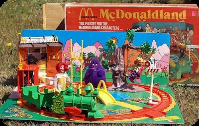 McDonaldland playset