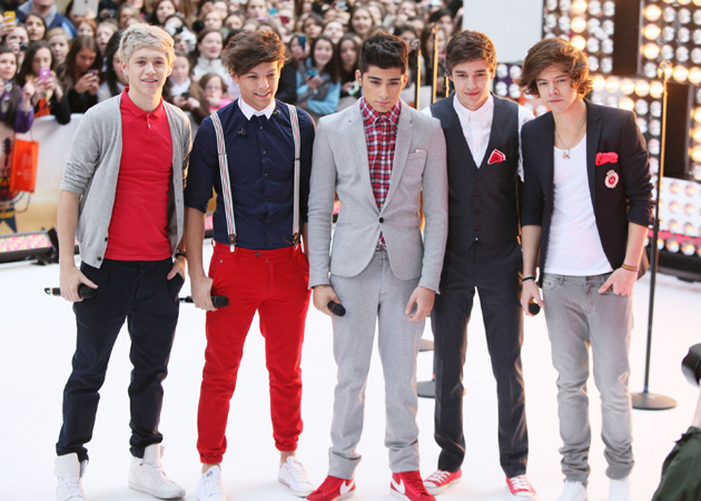 One Direction Boy Band