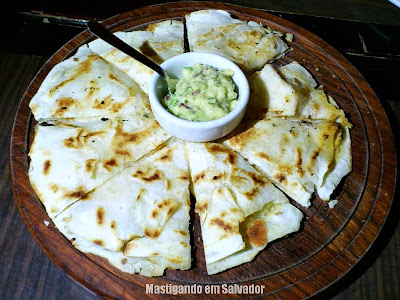 DOC Casual Dinning: Tex Mex Quesadilla