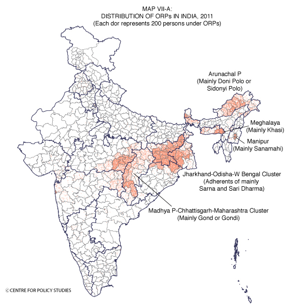 Centre for Policy Studies Religion Data of Census 2011 VII