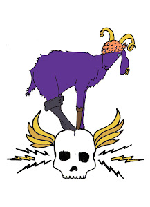 Purple Pirate Goats of the World...Unite!