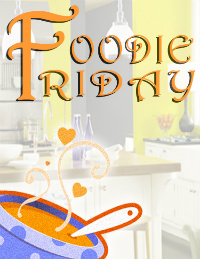 Foodiefridaylogo Peach Blueberry Egg Bread Bake and Free eCookbook Offer