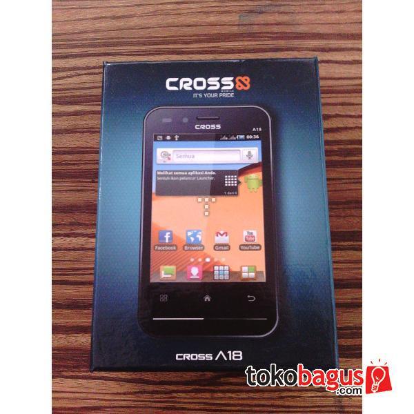 Cross A18 - Ponsel Android Gingerbread Dual Kamera Terbaru - Berita ...