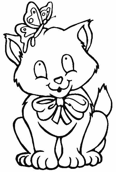 Desenhos Preto e Branco Os animais mais adorados pelas crianças Colorir