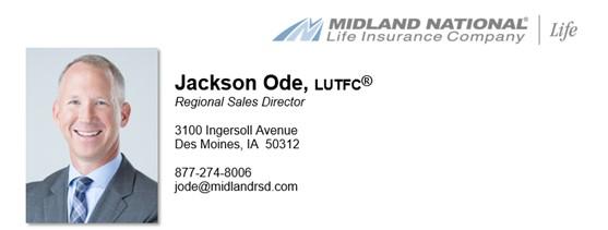 Jackson Ode - Regional Sales Director