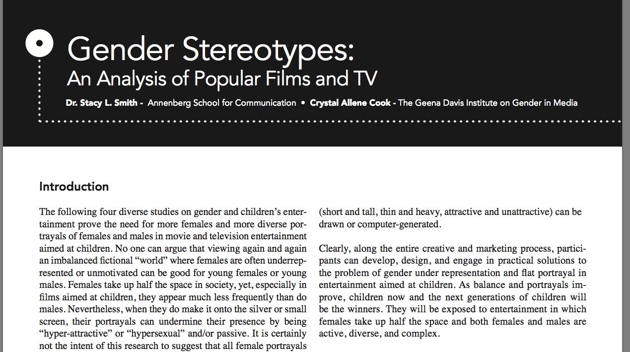 gender stereotyping in tv commercials essay Gender stereotyping differences and attributes of a certain group based on their gender gender stereotypes starting from commercials, gender stereotyping.
