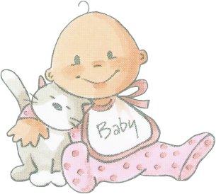 Dibujos para todo dibujos de bebes a color - Dibujos pared bebe ...
