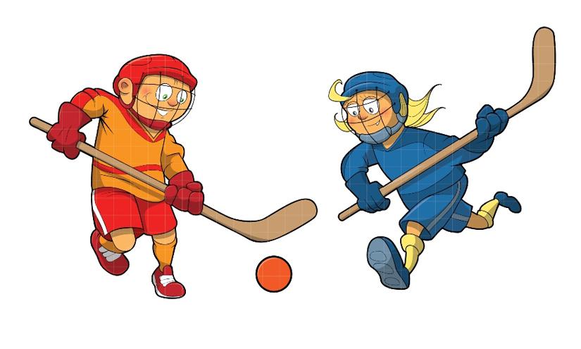 Résultats de recherche d'images pour «hockey balle dessin»