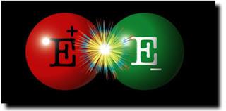 choque positrón electrón