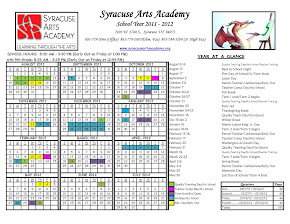 SAA Calendar 2011 - 2012