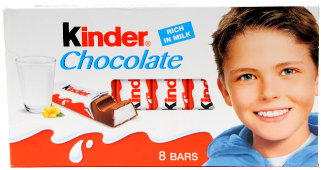 Josh Bateson enfant chocolat kinder