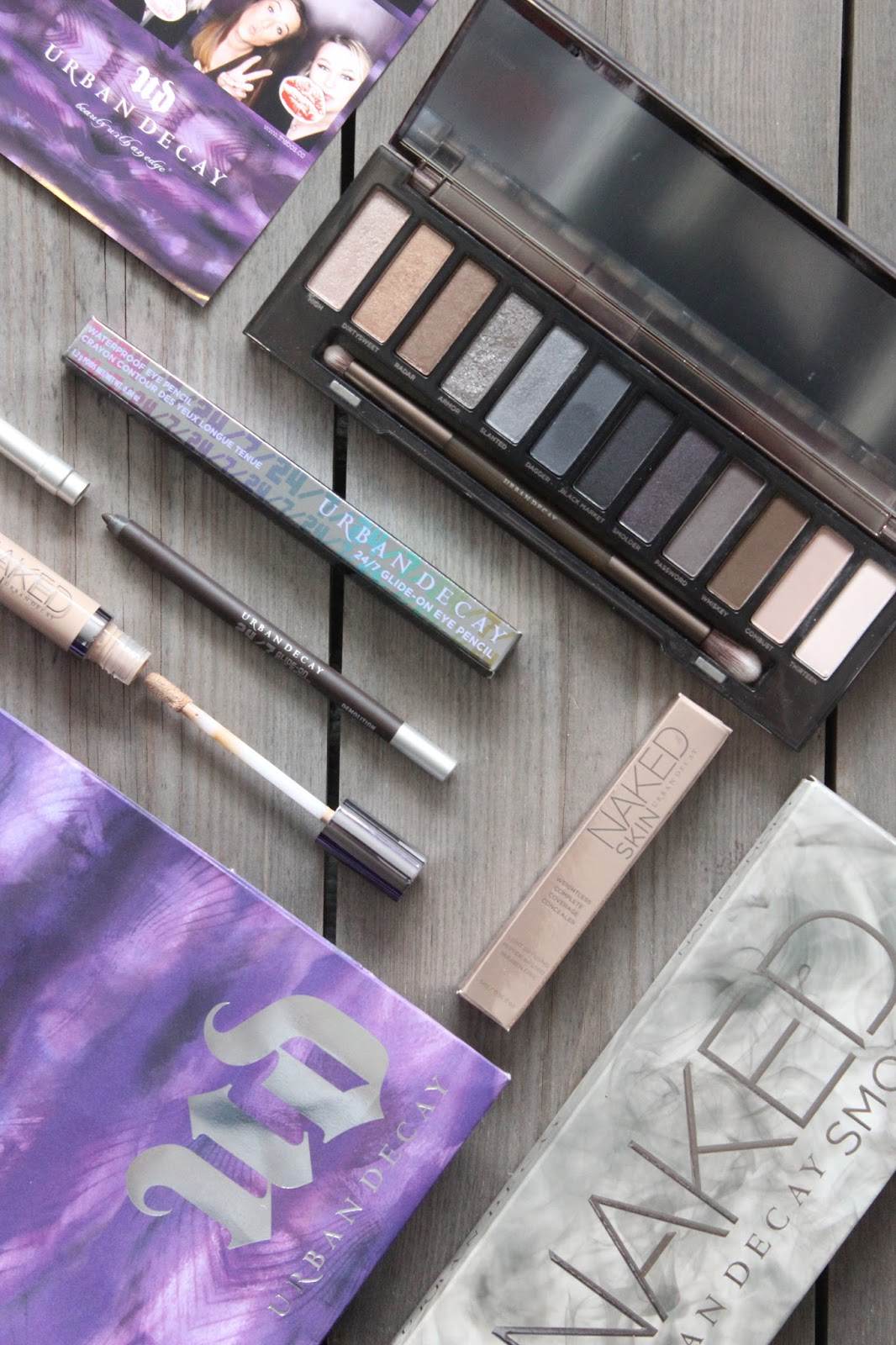 Mini Urban Decay Haul & First Impressions