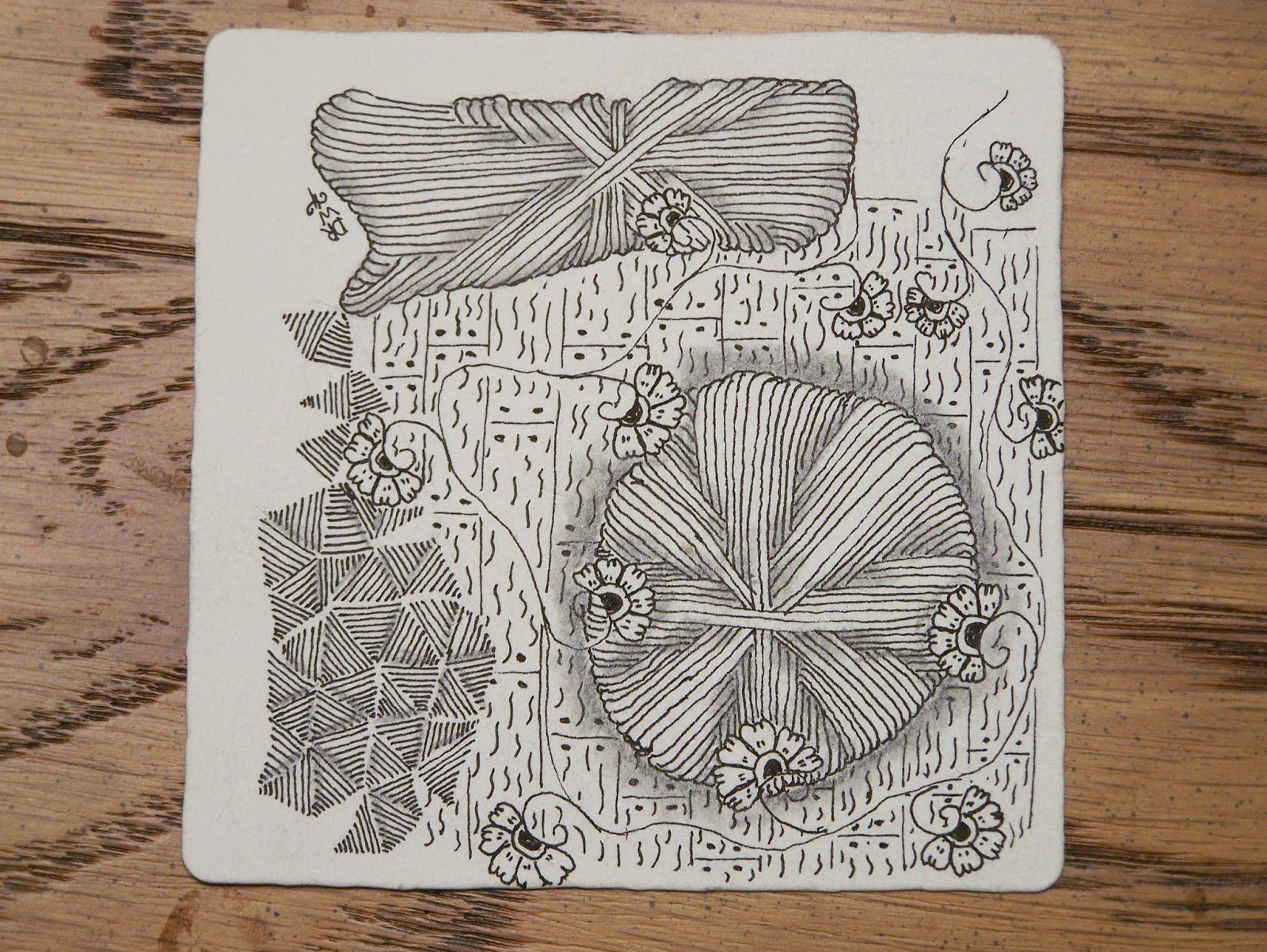 Tangles And More Square One Purely Zentangle Hurry
