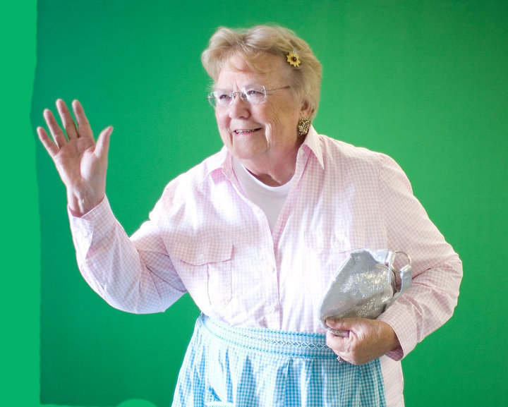 Sweet Swine County's Mrs. Swanson Gets Inspiration From Aunt Bee