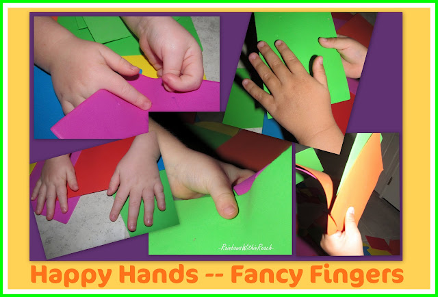 Fine Motor and foam cards, preschool, bright colors, children hands