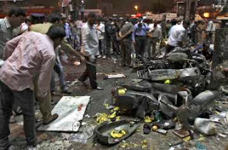 Twin blasts shattered the peace of City in Dilsukhnagar, Hyderabad