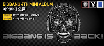 BiG bAng ComEbAcK!!! 4th mini album