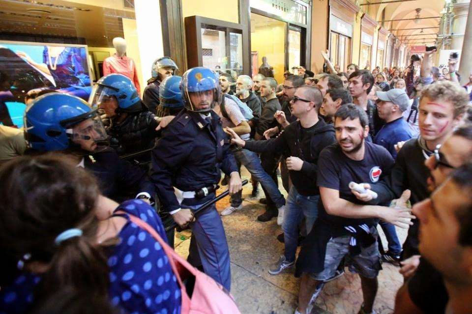 Bologna: violências, insultos, agressões. A estrema esquerda  e a agenda LGBT parecem não ter outros argumentos