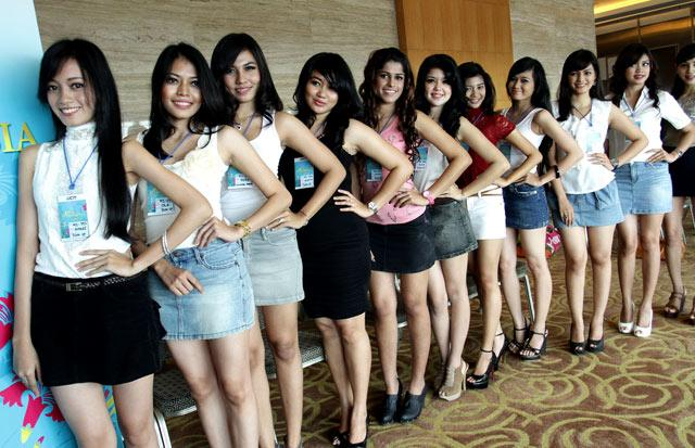 7 Wanita Cantik Asal Medan Lolos Ajang Miss Indonesia 2013