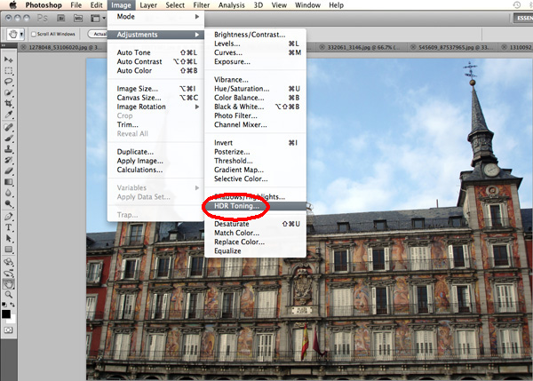 HDR Toning in Photoshop CS5