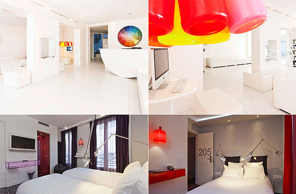 A redhead in london for Color design hotel paris