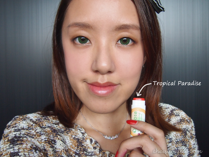 Omorose Lip Dressing in Tropical Paradise review