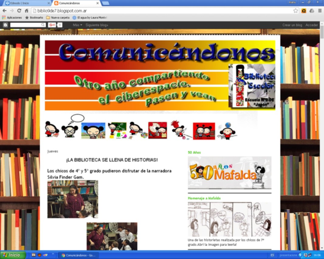 Blog de la Biblioteca Escolar
