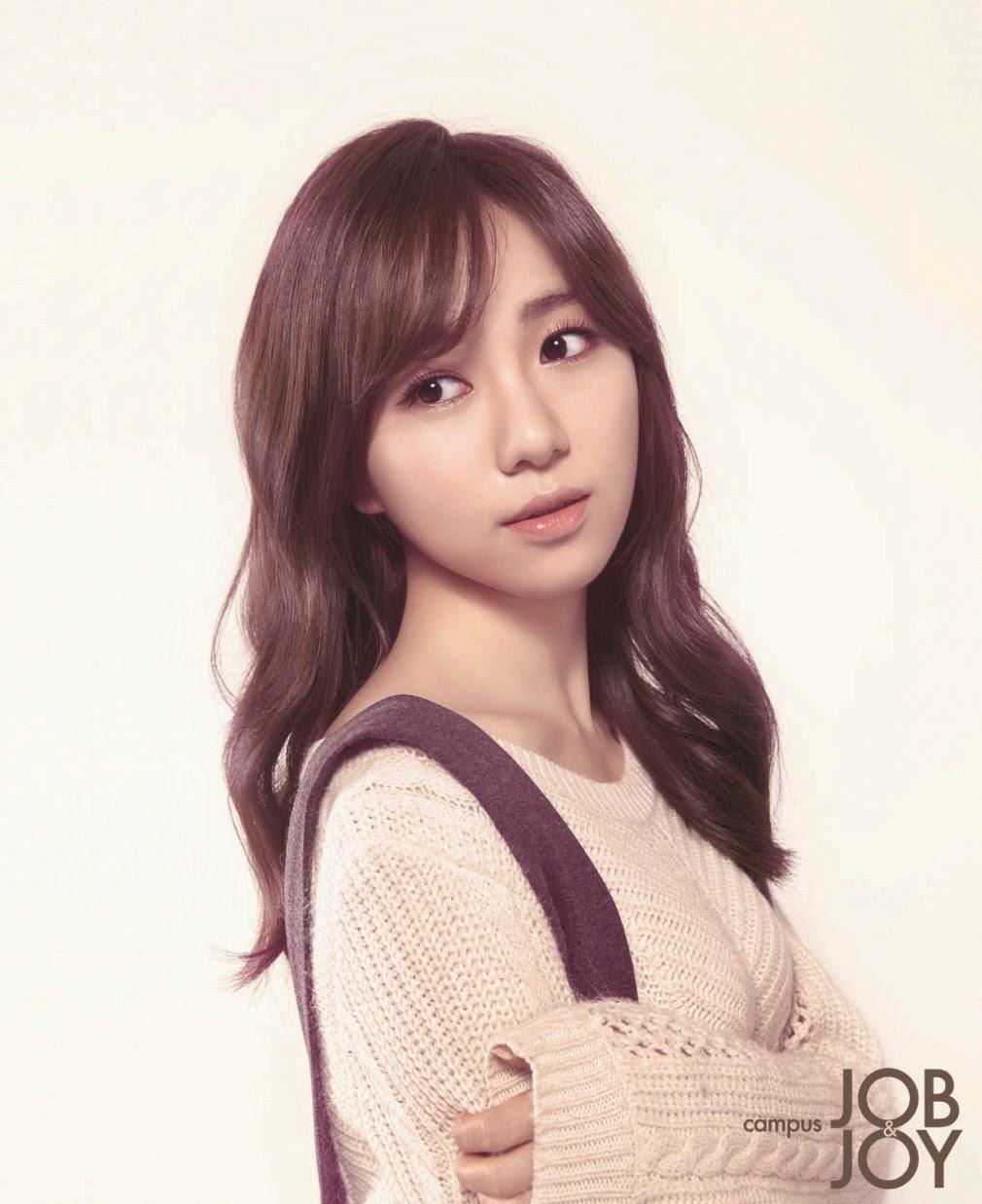 Mina AOA - Campus Job&Joy Magazine February Issue 2014