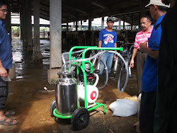 Delivery dan Supervisi Milking Machine tgl 16 Juli 2013