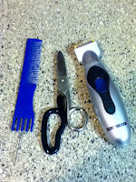 Lil Debi As Mama Haircutting Tools picture