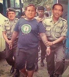 Prabowo Ditangkap