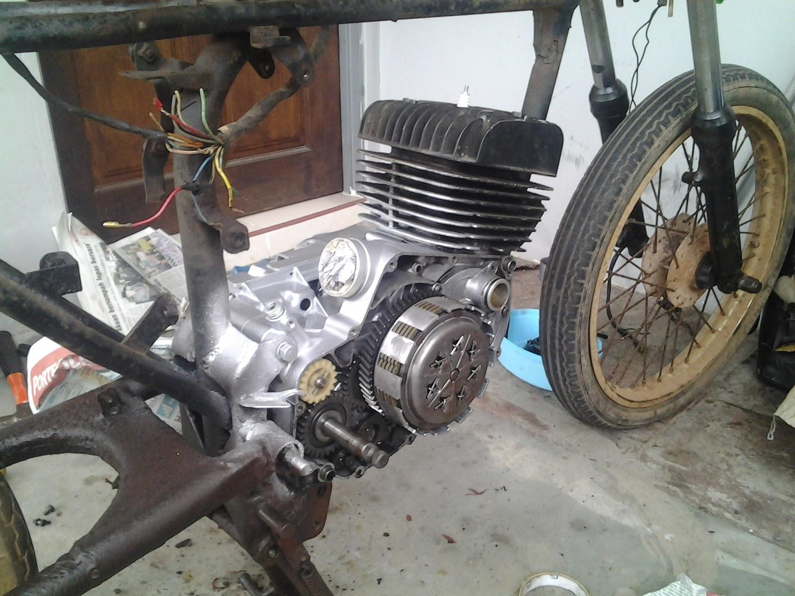 Arasbike Ct  Suzuki Gp100 Restoration