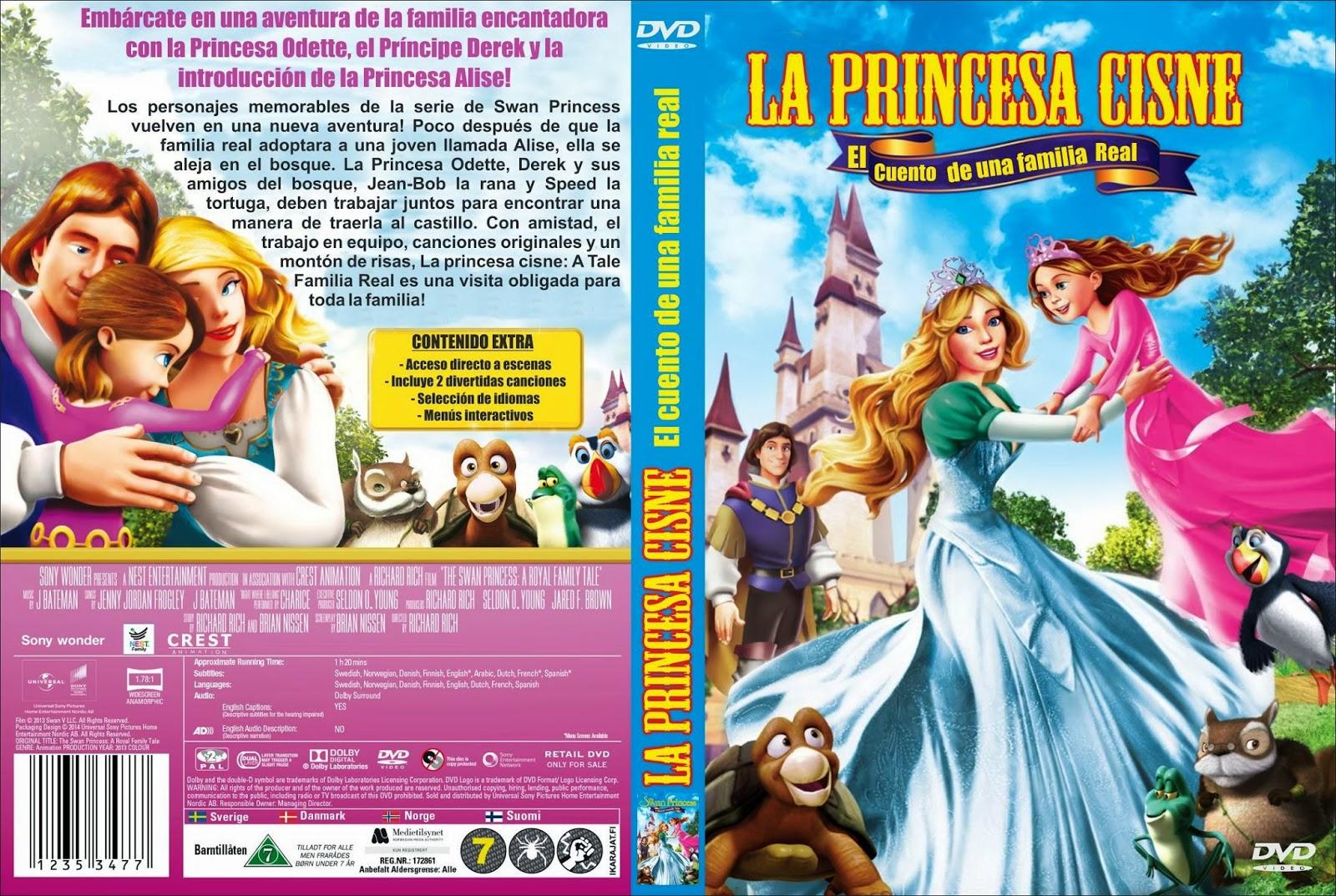 dvd ps2 series programas la princesa cisne el