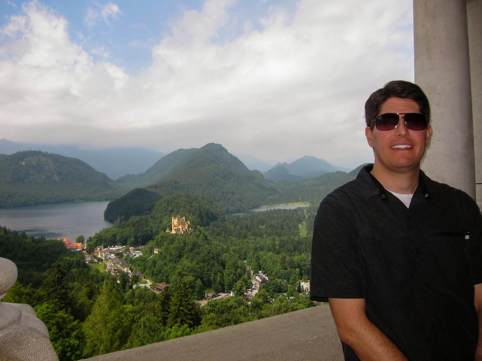 Extreme European Adventure: Neuschwanstein Castle #3E5F8D
