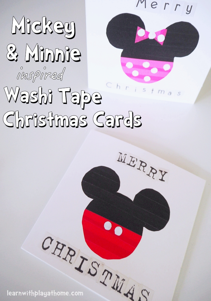Learn with Play at Home: Mickey and Minnie Mouse Washi Tape ...