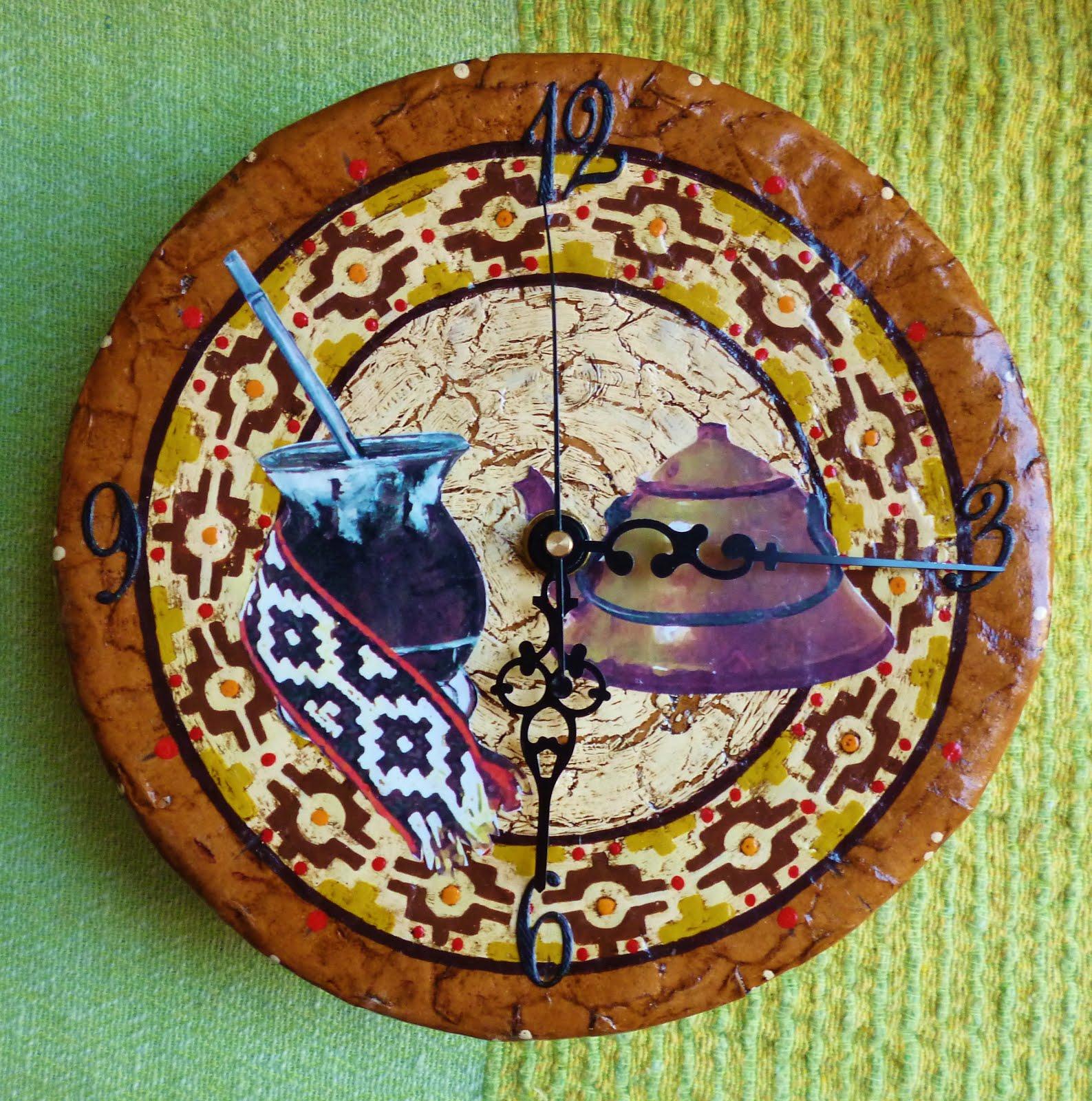 Reloj artesanal.