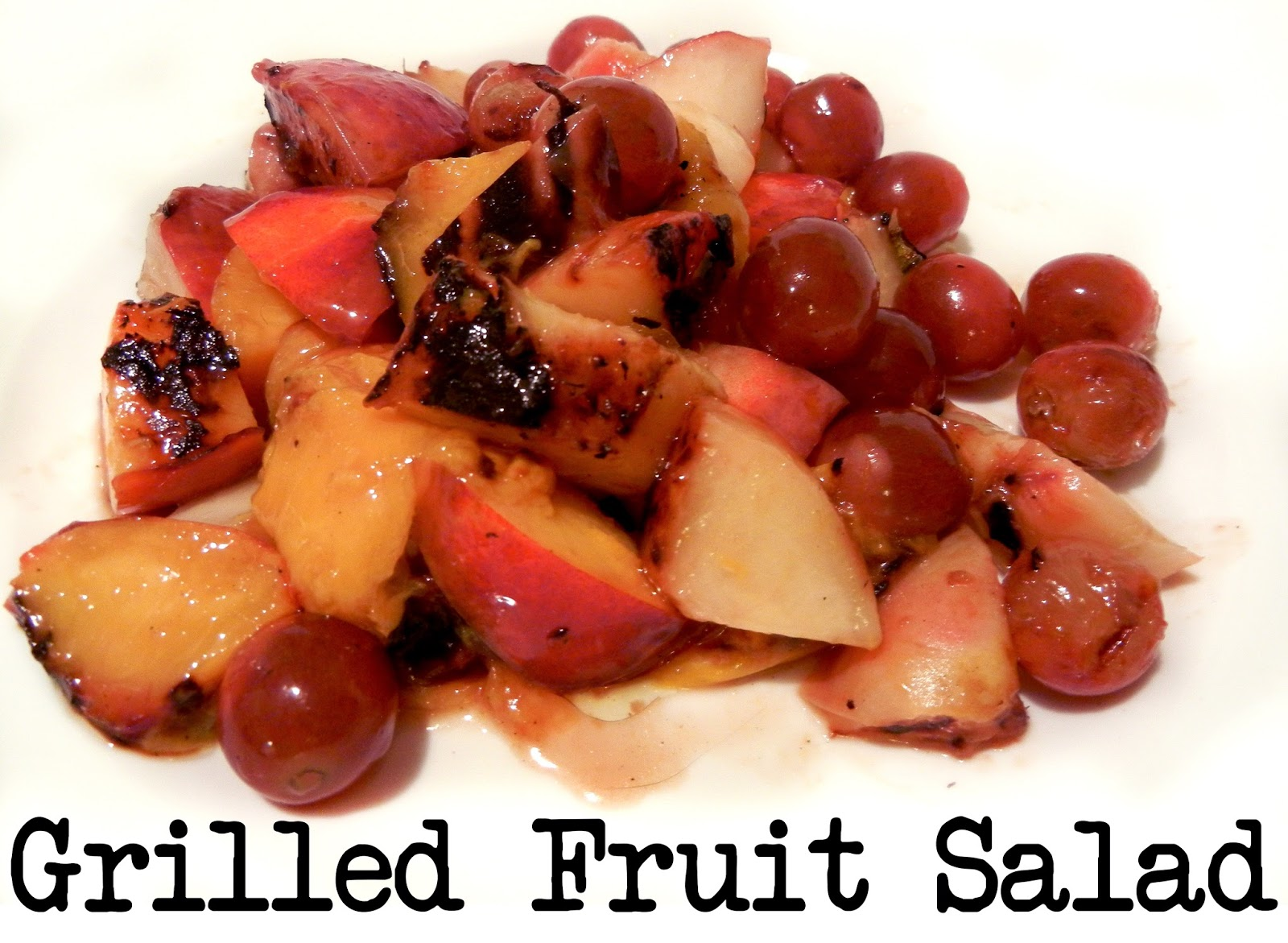 Derek's Kitchen: Grilled Fruit Salad
