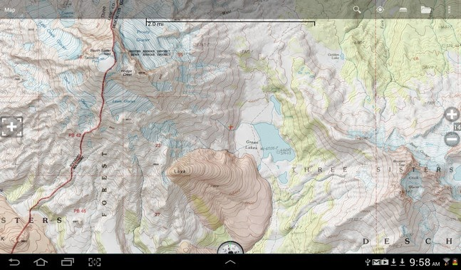 BackCountry Navigator PRO GPS android apk - Screenshoot
