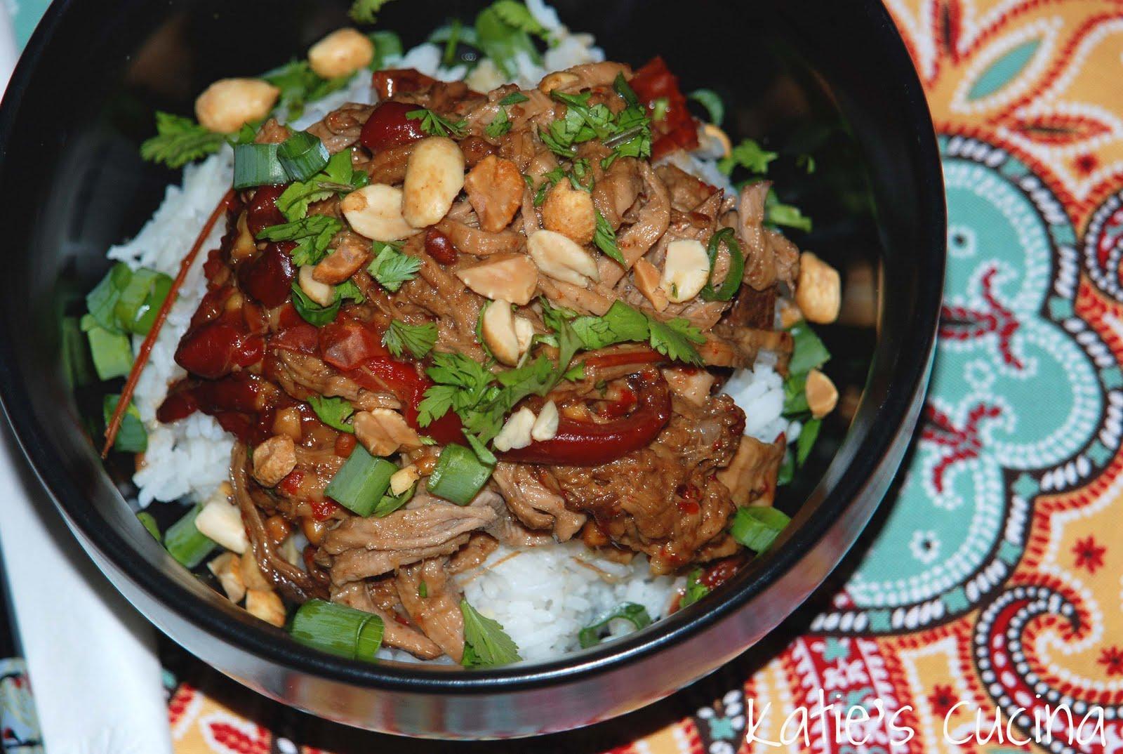 Slow Cooker Thai-Style Pork - Katie's Cucina