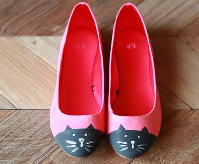 tutorial zapatillas de gato para niña