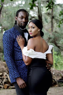 Osas Ighodaro And Gbenro Ajibade Release Their Pre-Wedding Photos