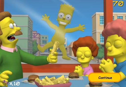Juego Los Simpsons  Naked Skate  Juegos de Los Simpsons
