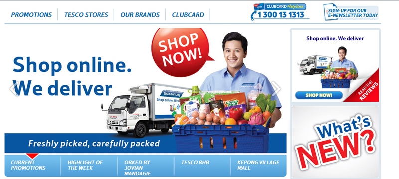 Online grocery shopping in malaysia