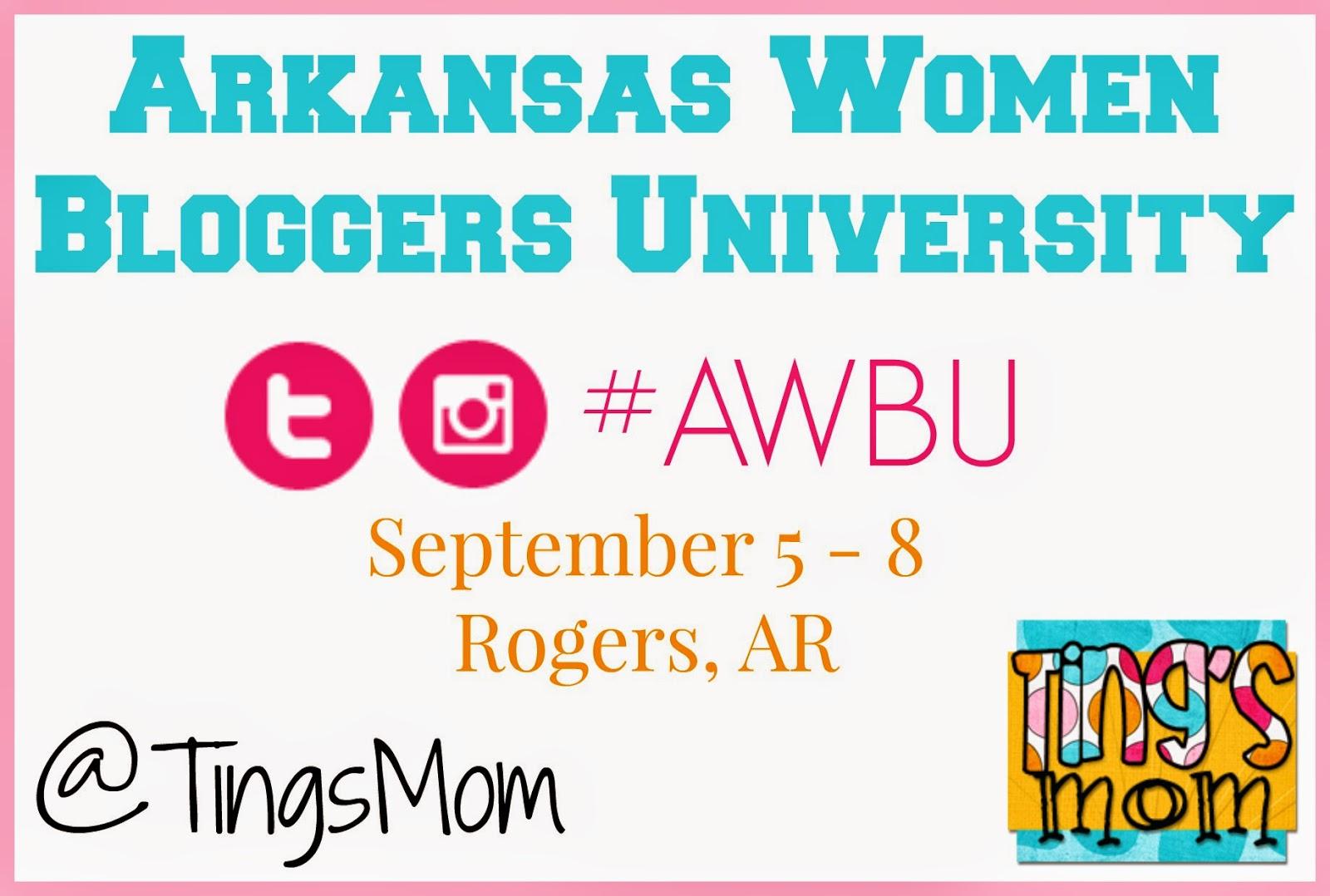AR Women Bloggers University | #awbu #blogconference #arwb #swarbloggers