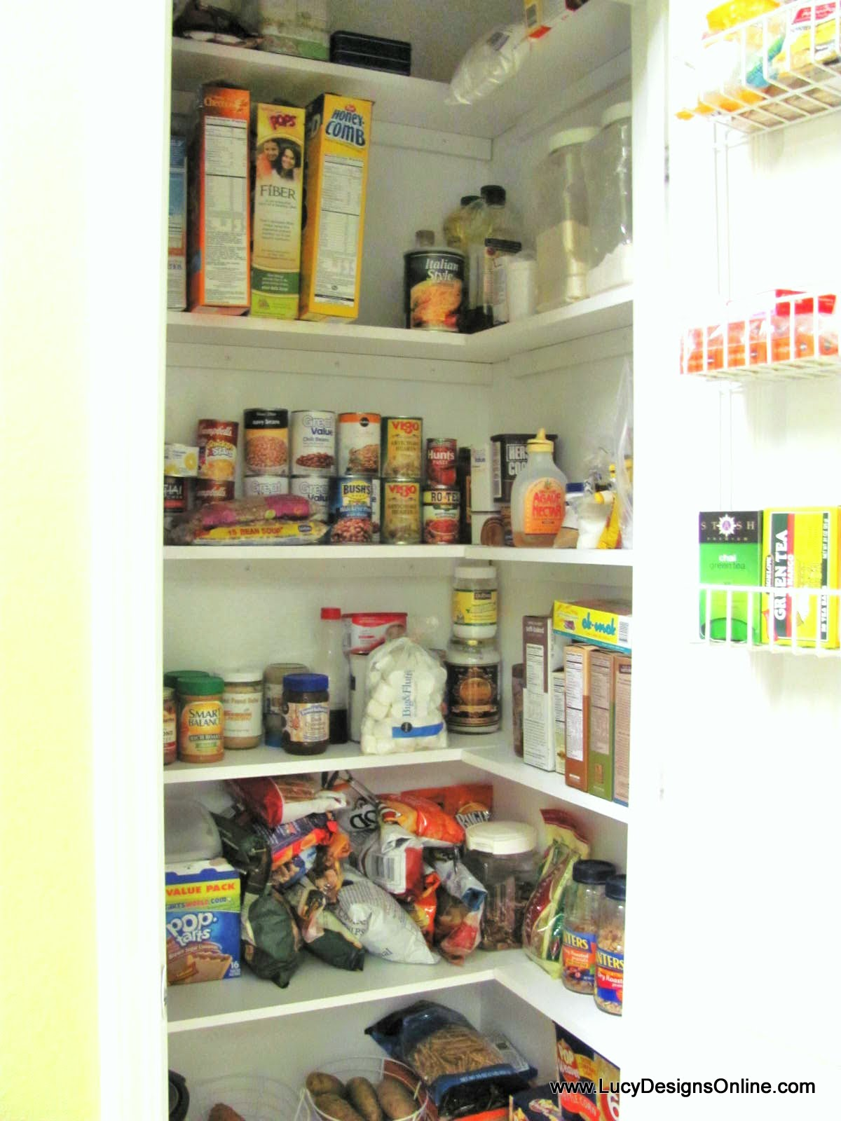 Kitchen Pantry Makeover DIY Installing Wood Wrap Around ...
