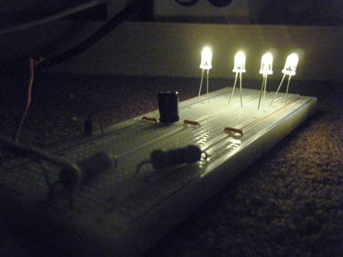 120 volt 4 led light circuit electronic circuit 120 volt 4 led light circuit