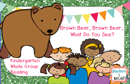 http://www.teacherspayteachers.com/Product/Brown-Bear-Whole-Group-Flipchart-1399160