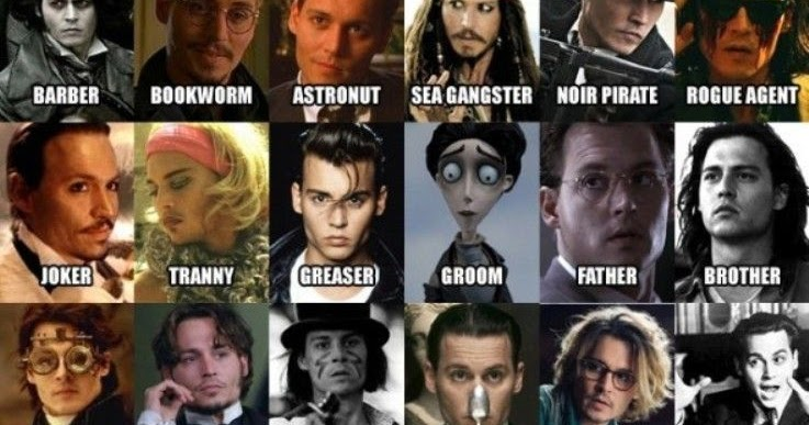 Johnny deep movie list